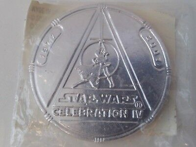 "2007 STAR WARS ""Celebration IV"" COIN - Hasbro *NEW *STILL SEALED"