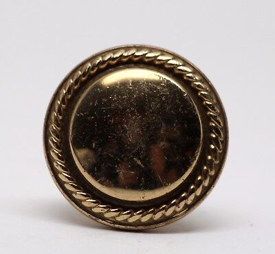 Concentric Cast Brass Drawer Knob from The Waldorf Astoria