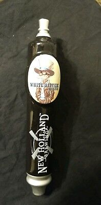 New Holland Brewing Tap Handle White Hatter White Pale Ale Belgium