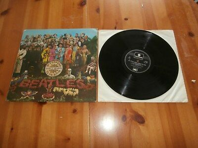 The Beatles – Sgt. Pepper's Lonely Hearts Club Band - PCS 7027,One Boxed EMI LP*