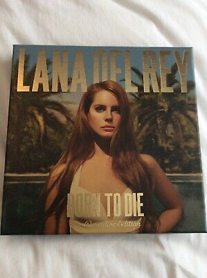 Lana Del Rey Born To Die The Paradise Edition 3 X Cd, Dvd & 7 Inch Picture Disc