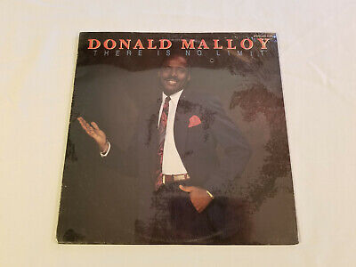 Donald Malloy – There Is No Limit  1990 original vinyl record  Sealed Mint