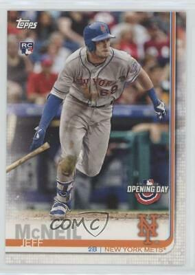 2019 Topps Opening Day #133 Jeff McNeil New York Mets RC Rookie Baseball Card