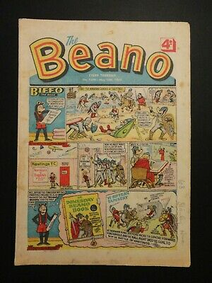 Beano Comic No. 1399 - May 8th - 14th 1969, 50th Birthday Present/Gift, VG- Copy