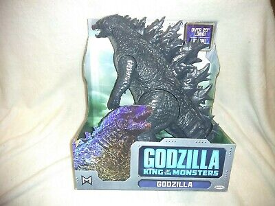 "Jakks Pacific Giant Godzilla 2019 Movie King Of The Monsters 20"" + Action Figure"