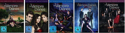 The Vampire Diaries Completare Stagione 1 2 3 4 5 Serie Tv 26 DVD Collection