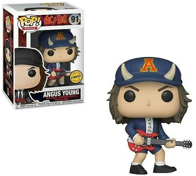 Funko - POP Rocks: AC/DC - Angus Young #91 LIMITED CHASE EDITION