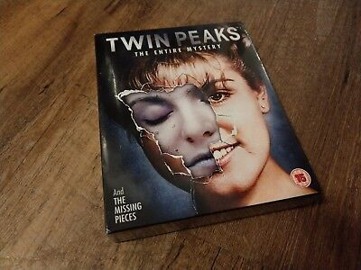 Twin Peaks - The Entire Mystery (Blu-ray, 10 Discs, Region Free) *NEW/SEALED*