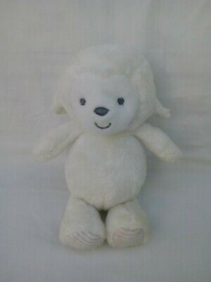 258c95e51 Carters Precious Firsts White Plush Lamb Sheep Stuffed Baby Toy Rattle