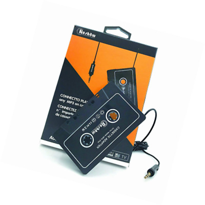 Reshow Car Audio Cassette Adapter for iPod, MP3 MP4 CD Player