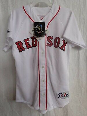 592d7ae05 David Ortiz / Boston Red Sox YOUTH Majestic Replica Home Jersey $20 Off SRP  NWT