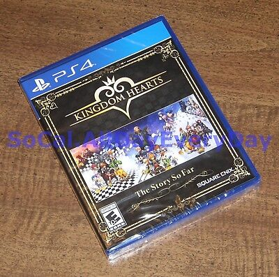 Kingdom Hearts: The Story So Far 1.5 + 2.5 ReMIX + 2.8 (PlayStation 4) NEW!! ps4