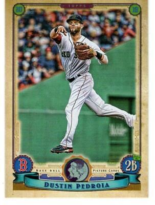 2016 Topps Gypsy Queen Baseball Mini Parallel #149 Dustin Pedroia Red Sox