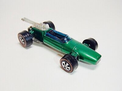 1969 BRABHAM REPCO F1 Green Redline Hot Wheels Diecast Hong