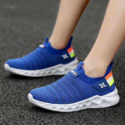 buy online 4a34c 11a87 Boys Tennis Shoes Breathable Running Shoes Walking Shoes Sneakers Big Kids