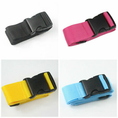 Travel Buckle Lock Tie Down Belt for Baggage Adjustable Luggage Suitcase Strap