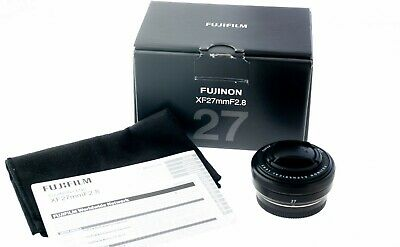FUJIFILM FUJINON FUJI XF 27MM F2.8 LENS (Black) X-MOUNT for Fuji