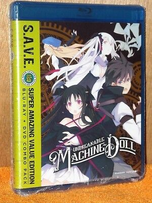 Unbreakable Machine Doll The Complete Series (Blu-ray/DVD, 2013, 4-Disc) anime