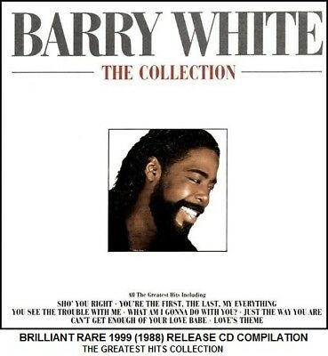 Barry White - Very Best Greatest Hits Compilation - RARE 70's 80's Soul Pop CD