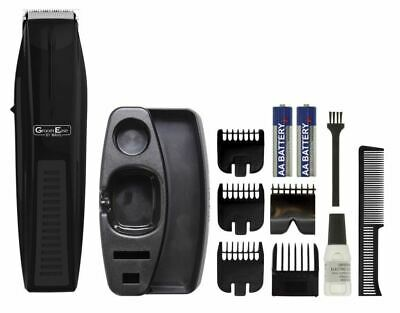 Wahl Men's Facial Hair Trimmer Stubble & Beard GroomEase Battery Powered