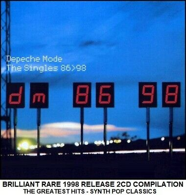 Depeche Mode - The Very Best Greatest Hits Collection - RARE 80's Synth Pop 2CD
