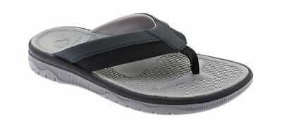 b0fd88029d5f Clarks Men s Balta Sun Flip Flop Black Synthetic Beach Sandals