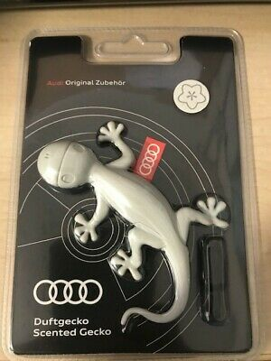 Audi Genuine Grey Gecko Air Freshener-Pine/Orange scent