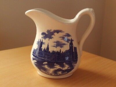 "Vintage J.h. Weatherby & Sons Ltd Hanley England ""London Pride"" Milk Jug."