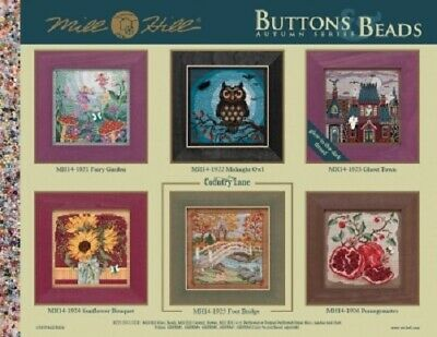 Mill Hill Buttons & Beads Autumn Series 2019 Beaded Counted Cross Stitch Kits
