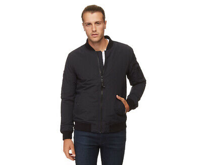 Superdry Men's Air Corps Bomber - Eclipse Navy