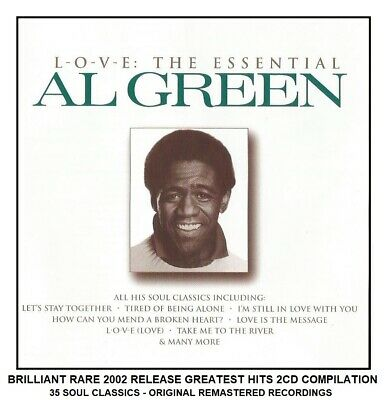 Al Green - Very Best 35 Greatest Hits Collection RARE 2002 2CD 70's Soul Music