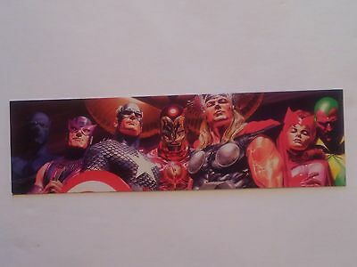 ALEX ROSS ART Bookmark Star Wars Darth Vader Marvel Avengers Spider Man Schelpen, mineralen Verzamelingen