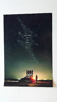 "SDCC 2016 Power Rangers movie poster - 13 1/2"" x 20"" - Excellent Condition (EX)"