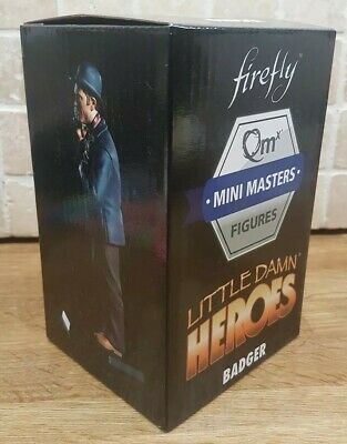 Firefly Loot Crate Exc Badger Serenity Damn Heroes Mini Masters Qmx Bnib