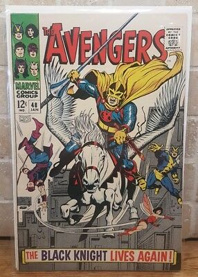 Avengers #48 January 1968 First BLACK KNIGHT End Game Marvel High Grade CGC