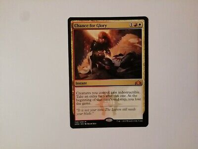 Chance for Glory 159//259 M Guilds of Ravnica MTG Mythic Rare