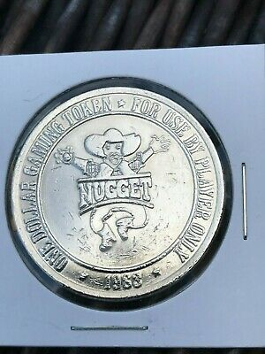 Vintage -- Nugget Casino -- Las Vegas Nevada  -- $1 Gaming Token  1983