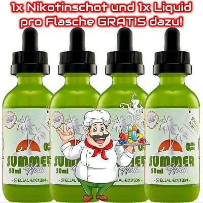 Dinner Lady Sunset Mojito E-Liquid 50ml 1x / 2x / 3x / 4x Sparset