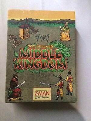 Middle Kingdom Ancient China Card Game Z-Man Games RARE OOP Unused in Box