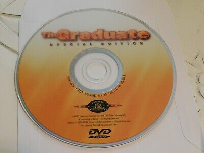 The Graduate (DVD, 1999, Special Edition Contemporary Classics)Disc Only 31-191