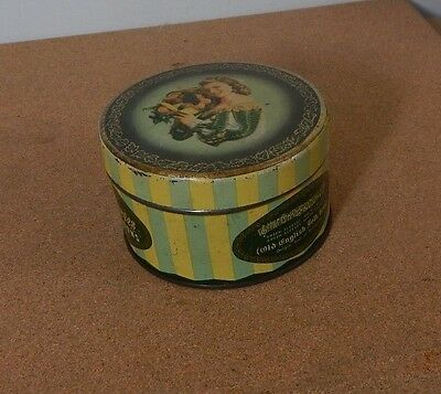 Vintage Wilkins Greensleeves Fruit Bon Bons Tin 1950's 11cm diameter