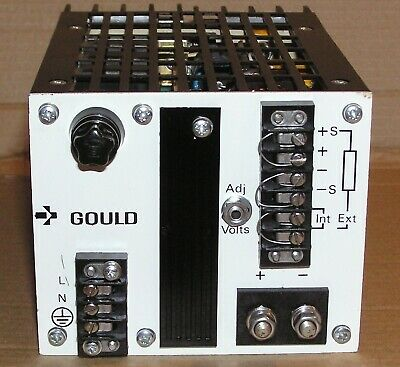 Gould Power Supply, 12 Volts dc, 8 Amps, Model MG 15-8B, Fully Load Tested, Nice