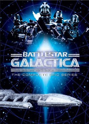 Battlestar Galactica - The Complete Epic Series DVD NEW