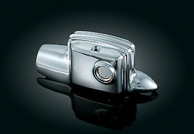 Kuryakyn Chrome Deluxe Rear Master Cylinder Cover Accent Harley Touring 09-2017