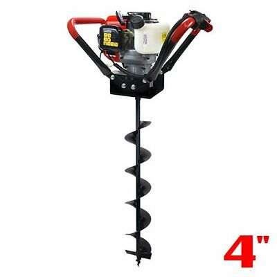 V-Type 55CC 2 Stroke Gas Post Hole Digger One Man Auger (4 6 8 10 12 inch Bit)