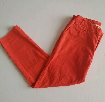 a2c362d31cac4e Patagonia Womens Size 6 Red Pants Stretch All Wear Capris Crop Organic  Cotton