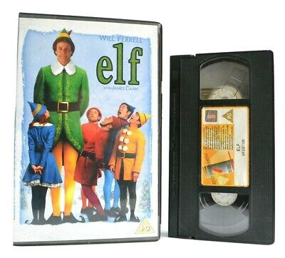 Elf: Christmas Comedy Film - Large Box (2004) - Will Ferrell/James Caan - VHS
