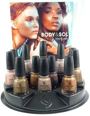 China Glaze Nail Lacquer BODY & SOL Collection Ready To Wear - Choose Any