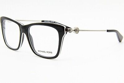 65cc9c5e61f5 New Michael Kors Mk 8022 3129 Black Authentic Eyeglasses Frame Mk8022 52-16