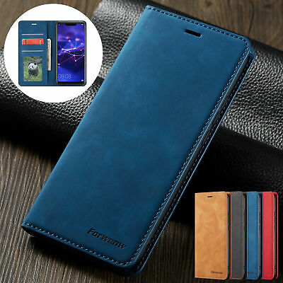 Fashion Case For Huawei P Smart 2019 Leather Flip Wallet Stand Card Cover